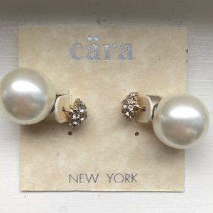 COPY - Pearl earrings by CARA NEW YORK